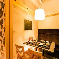 広々とした和モダン個室は会社宴会や同窓会にも最適です。