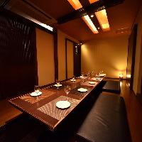 くつろぎの空間で お食事をお楽しみください