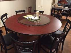 新設2階宴会席 円卓で宴会はいかがでしょうか♪