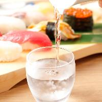 薫・爽・醇の味覚チャートで構成する日本酒。お好みの一杯をぜひ