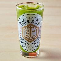 【名物茶割】こだわりの銘茶で作る京都利休園宇治抹茶割りで乾杯