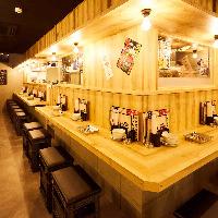 【お一人様OK】誰でも気軽にじっくり天ぷらを楽しめる上ル商店!