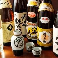 【充実のドリンク】ビール・カクテル・焼酎・日本酒と種類豊富