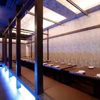 【完全個室】大小個室あり!宴会用フロア「離れ」も大人気!