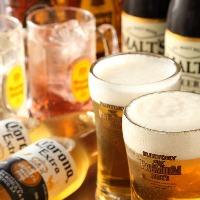 ビールはキンキンに冷えてますよ♪コロナビールやハイボールも有