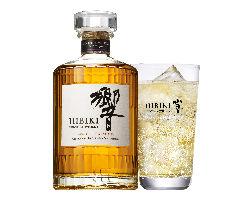 香り豊かな滑らかな味わい。 「響ハイボール」¥780