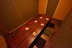 6~33名様ご案内可能な完全個室のお席は接待・合コンに最適です