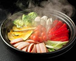 土鍋ならではの遠赤外線効果により素材の旨味を最大限に♪