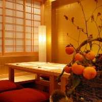 個室2部屋、半個室完備 静かな空間をお食事を楽しめます