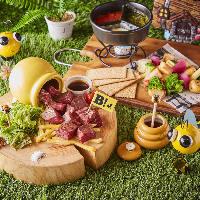 肉・チーズ・野菜を中心とした満足のいく絶品メニュー!