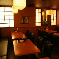 テーブル席・お座敷・少人数個室等、様々なお席をご用意☆