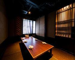 接待、会食、宴会 2~30名様まで個室にてご用意致します。