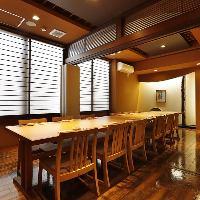 様々なシチュエーションに対応する優雅な個室完備