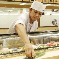江戸前寿司一貫75円(税抜)~楽しめる寿司屋台