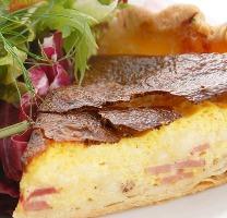 いしかわていのベーコンとチーズのキッシュ