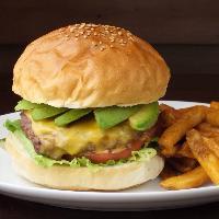 安心の手作りハンバーガー!バランスの良い美味しさ!