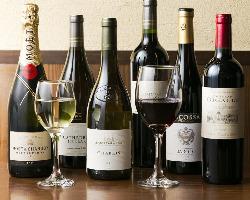 [鳥料理×ワイン] 赤・白・泡 自慢の料理に合うワインも多数♪