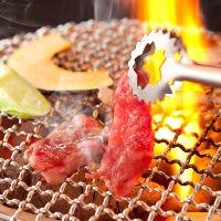 七輪で焼く本格炭火焼肉がなんと90分食べ放題!
