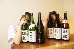 入手困難な日本酒・焼酎をお手頃価格で愉しめます♪