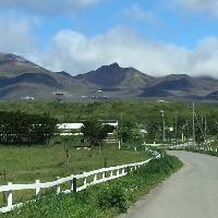 那須連山を望む絶好のロケーション。