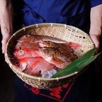卓上を豪華に彩る鮮魚を見た目でも美味しい形で♪