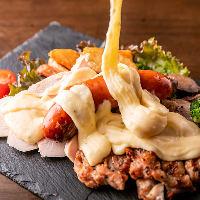絶品豚料理を存分にご堪能いただけるコース全9品3,980円(税込)。