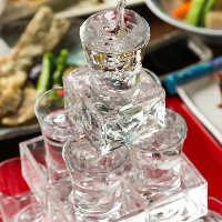 【日本酒タワー】 宴会や、お祝いの席にオススメです♪