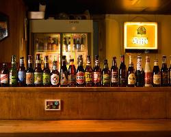 クラフトビールは50種以上!!