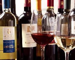 南イタリアワインを中心に店主こだわりのワインを集めております