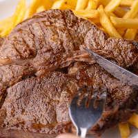 ボリューム満点!ランプステーキ/ハンガーステーキは肉好き必食