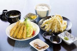 限定わかさぎランチ (フライor天ぷら)1,200円