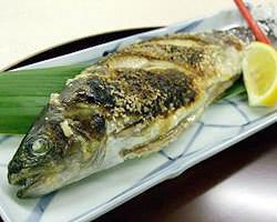 ニジマス定食 塩焼き 1,850円