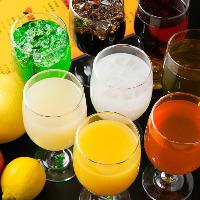 お子様や車でご来店の方も嬉しい♪ノンアルコール、ソフトドリンクも充実!