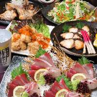 【コース】 鹿児島食材を使用した郷土料理をお得に堪能