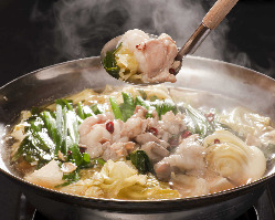 九州伝統のもつ鍋はコースで堪能!
