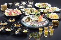 宴会コース各種ございます。