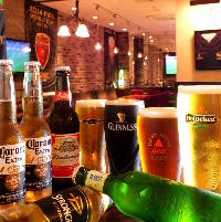 ビール好きには堪らない♪種類豊富にビールをご用意しております!