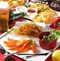 【宴会コース】 お得な2時間飲み放題付きコースを多数ご用意!