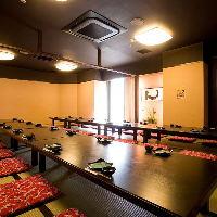 【個室】2名様用の半個室や70名様用の大きな個室までご用意!