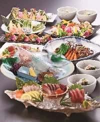 大小ご宴会にも最適なお料理をご準備いたします。