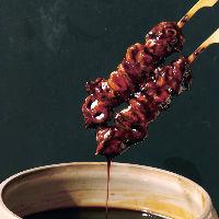 心臓と肝をつなぐ筋の「つなぎ」。新鮮だからご提供できる串。