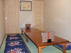 6~8名様迄用の畳の御座敷(個室)