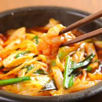 『韓国式石焼ホルモン』はプリプリのホルモンと甘辛いタレが絶品