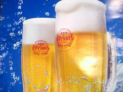 生ビールが毎日7時まで半額!!