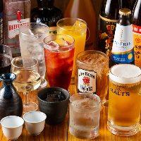 【ドリンク】 厳選日本酒にオリジナル焼酎など多彩な品揃え