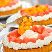 *◆:スイーツ:◆* 季節を感じられるデザートが満喫できます