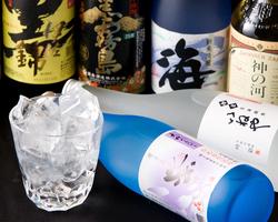 焼酎を中心に 九州の地酒が豊富です!