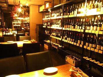 グリル&ワイン 倉庫
