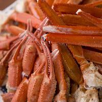 たまには贅沢に蟹の食べ放題。 (ディナーのみ)