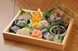 新鮮な魚介類をリーズナブルな値段で提供!